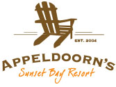 Appeldoorn's Sunset Bay Resort Logo